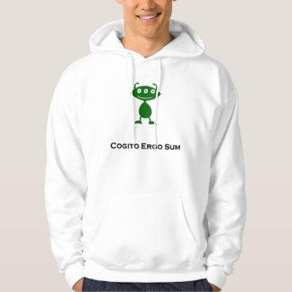 Triple Eye Cogito Ergo Sum green Sweatshirt