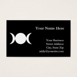 Triple Goddess Business Card