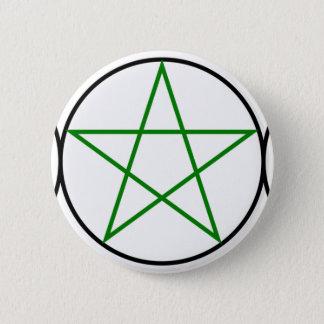 Triple-Goddess-Pentagram 6 Cm Round Badge