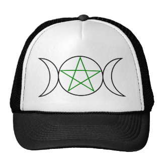 Triple-Goddess-Pentagram Cap