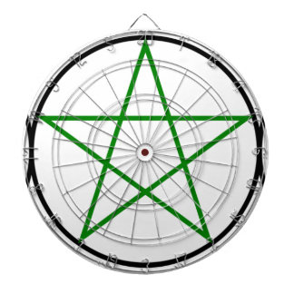 Triple-Goddess-Pentagram Dartboard