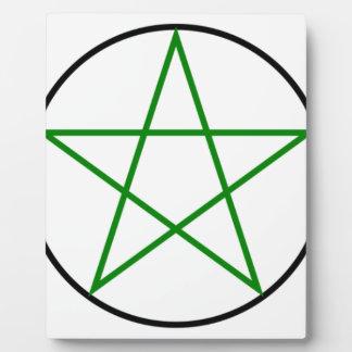 Triple-Goddess-Pentagram Plaque