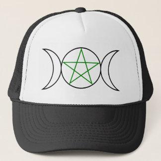 Triple-Goddess-Pentagram Trucker Hat