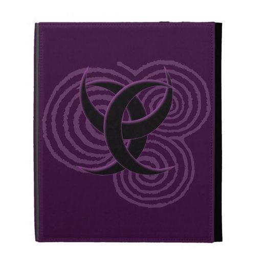 Triple Goddess Symbol iPad Case