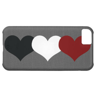 Triple Heart iPhone 5C Case