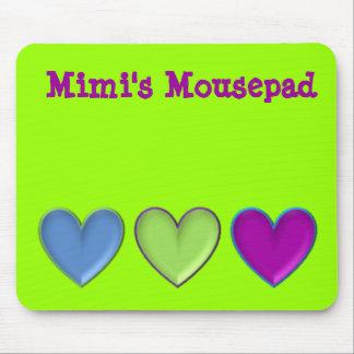 triple hearts, Mousepad