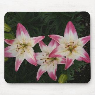 Triple Lily ~ mousepad