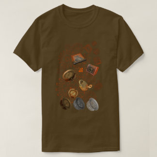 Triple Mesh 3D Scanned Steampunk Stuff One Side T-Shirt