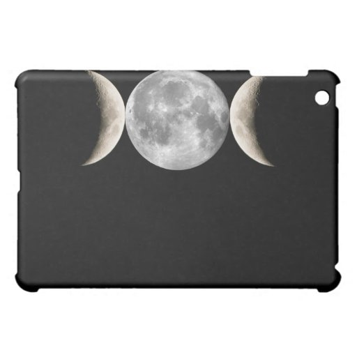Triple Moon Goddess iPad Mini Cover