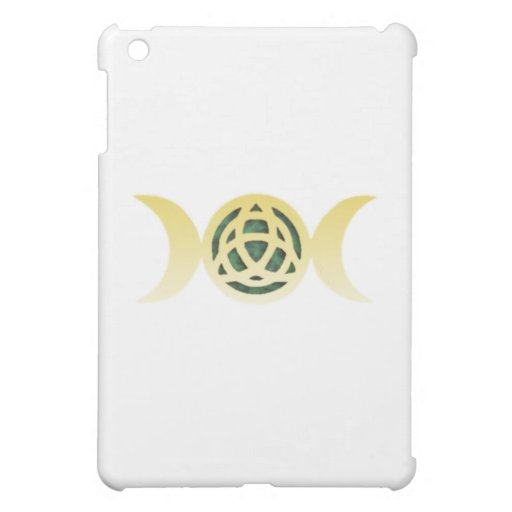Triple Moon Triquetra iPad Mini Cases