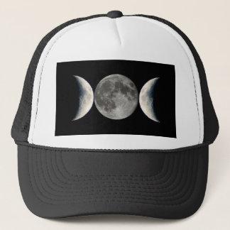 Triple Moon Trucker Hat