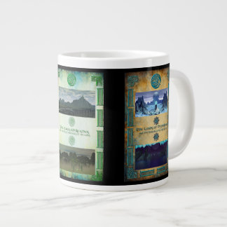 Triple Panel Imperial Imagery Second Large Coffee Mug