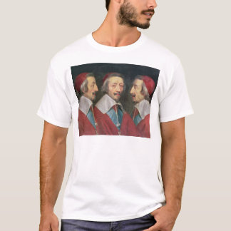 Triple Portrait of the Head of Richelieu, 1642 T-Shirt