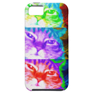 Triple Psychedelic Herm iPhone 5 Vibe Case