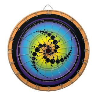 Triple Spiral Crop Circle Dartboard