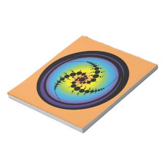 Triple Spiral Crop Circle Notepad