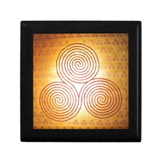 Triple Spiral Labyrinth Gift Box