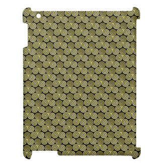 Triple spiral pattern case for the iPad 2 3 4