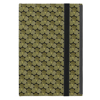 Triple spiral triskele Celtic Khaki Beige Cases For iPad Mini