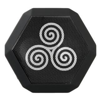 Triple spiral  White