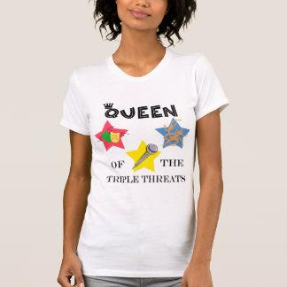 Triple Threat Queen Lite T-Shirt
