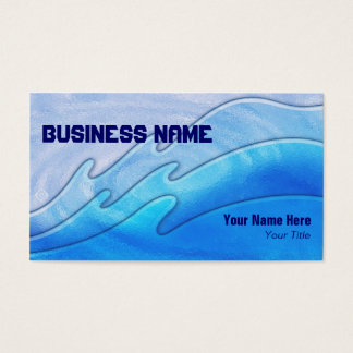 triple waves ~ bc business card
