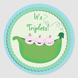 Triplet Cupcake Toppers & Stickers