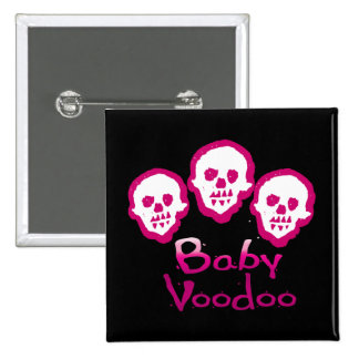 Triplet voodoo Square Button