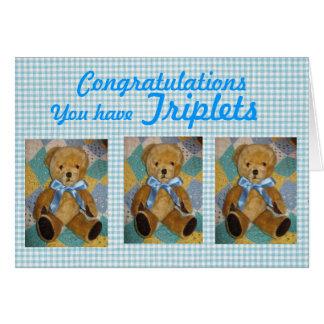 triplets card