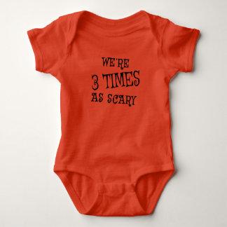 TRIPLETS Halloween Baby Bodysuit