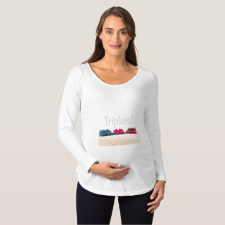 Triplets Maternity top
