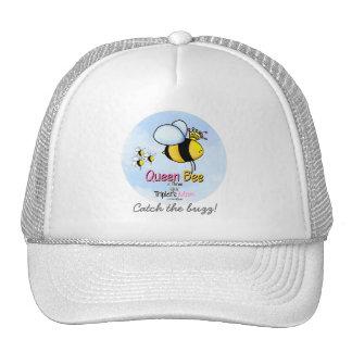 Triplets Mom - Queen Bee Trucker Hat