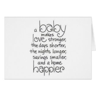 TRIPLETS TRIPLE THE JOYS OF PARENTHOOD CARD