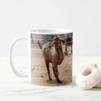 """Tripod"" Rescued Goat  Coffee Mug"