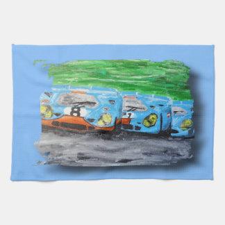 Tripolarize 917 - Artwork Jean Louis Glineur Tea Towel