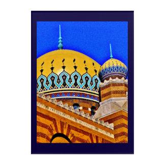 Tripoli Shrine Temple Acrylic Wall Art