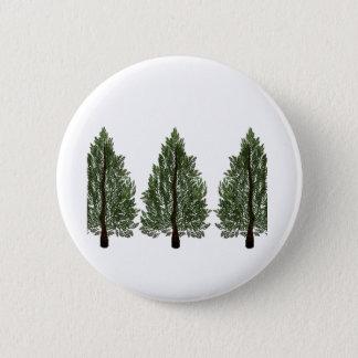 Tripple Pines 6 Cm Round Badge