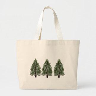 Tripple Pines Large Tote Bag