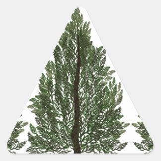Tripple Pines Triangle Sticker