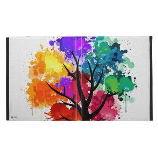 TrippleGaming - iPad case - colourful tree