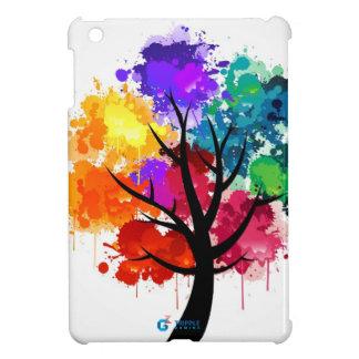 TrippleGaming - iPad Mini case - colourful tree