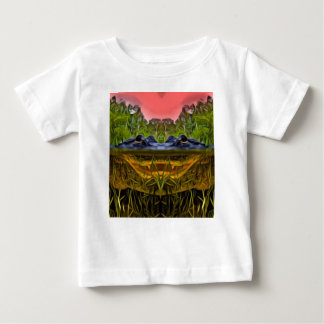 Trippy Alligator Baby T-Shirt