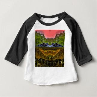 Trippy Alligator Baby T-Shirt