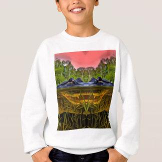 Trippy Alligator Sweatshirt