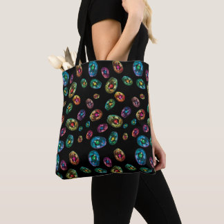 Trippy Avocado Tote Bag