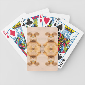 Trippy Bunnies Bicycle Playing Cards