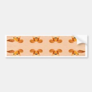 Trippy Bunnies Bumper Sticker