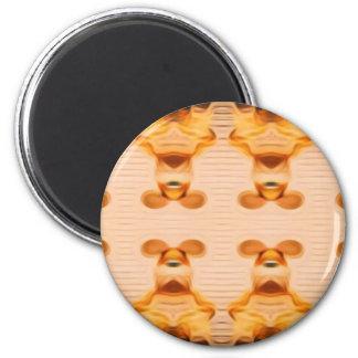Trippy Bunnies Magnet
