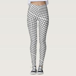 trippy checkers leggings