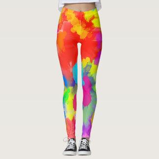 Trippy Colorful Leggings